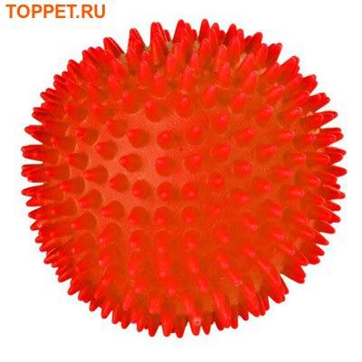 TRIXIE Игрушка для собак Мяч игольчатый, винил, d 7,5см (фото, вид 1)