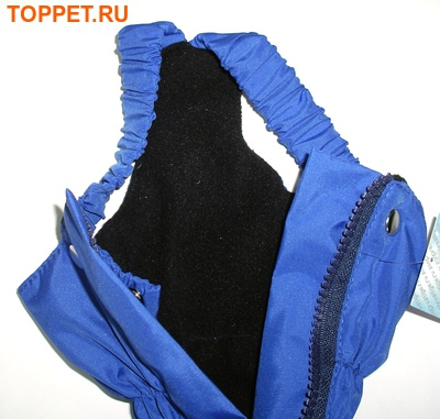ZooPrestige Брюки для собак, утепленные, синий цвет, на флисе, размер S, L, XL (фото, вид 1)
