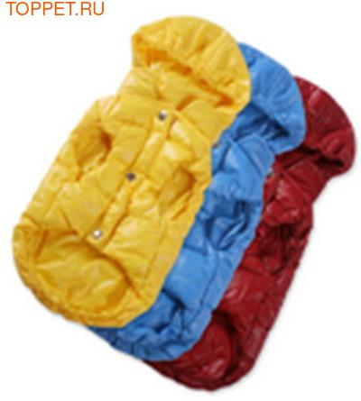 I's Pet Куртка-пуховик теплая, цвет бордовый, размер S (фото, вид 1)