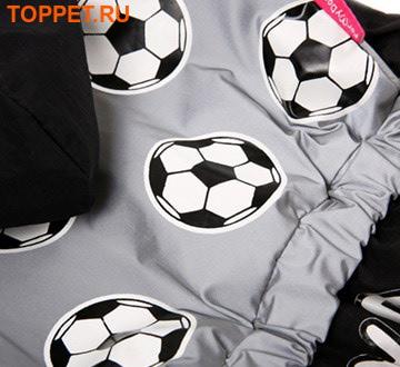 """ForMyDogs Дождевик для собак Серия """"Футбол"""" черный, модель для мальчиков, размер 14 (фото, вид 1)"""
