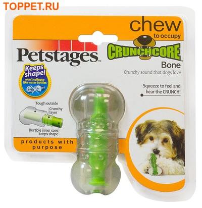 """Petstages Игрушка для собак """"Хрустящая косточка"""" (фото, вид 2)"""