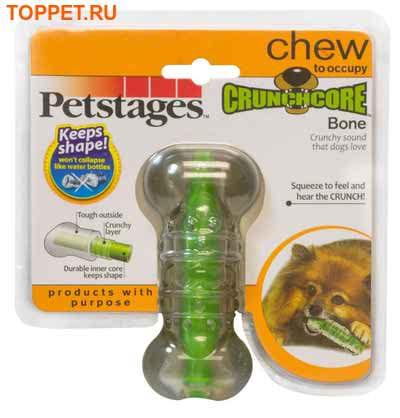 """Petstages Игрушка для собак """"Хрустящая косточка"""" (фото, вид 3)"""