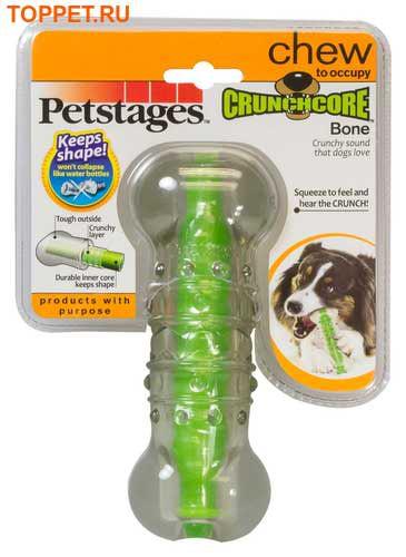 """Petstages Игрушка для собак """"Хрустящая косточка"""" (фото, вид 4)"""
