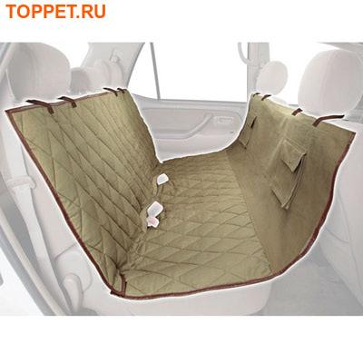 Solvit Покрывало-чехол гамак для собак в машину Deluxe Bench Seat Cover, 142 x 154см (фото, вид 1)