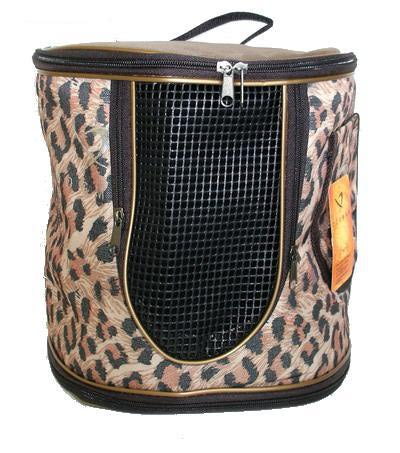 DOGMAN Рюкзак для собак и кошек малый леопард, размер 29х26х25см (фото, вид 2)