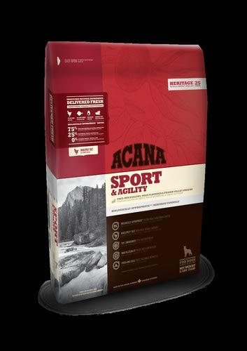 Acana Heritage Sport & Agility сух. для активных собак (фото, вид 1)