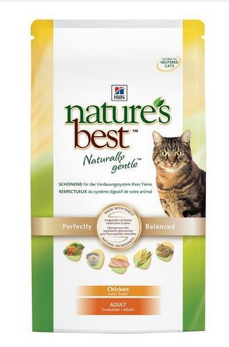 HILL'S NB Для кошек, с курицей, овощами, сух от 300гр (фото, вид 1)