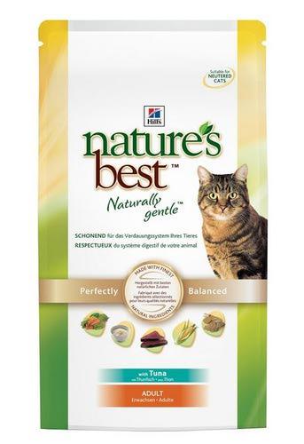 HILL'S NB Для кошек, с тунцом, овощами, сух. от 300гр (фото, вид 1)