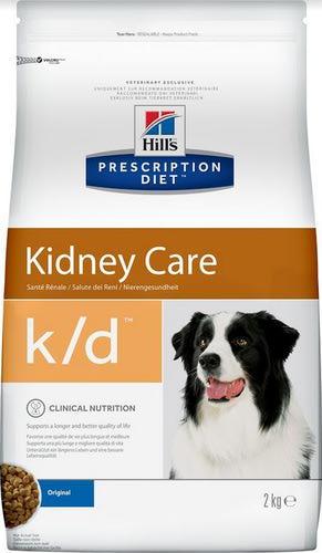 HILL'S PD Canine k/d Для собак, лечение заболеваний почек, сух. от 2кг (фото, вид 1)