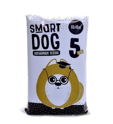 Smart Dog Впитывающие пеленки для животных 60*40см (фото, вид 1)