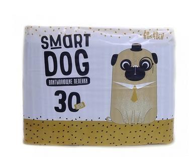 Smart Dog Впитывающие пеленки для животных 60*40см (фото, вид 2)