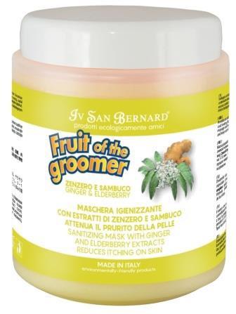 IV SAN BERNARD Fruit of the Grommer Ginger&Elderbery Восстанавливающая маска с противовоспалительным эффектом (фото, вид 1)
