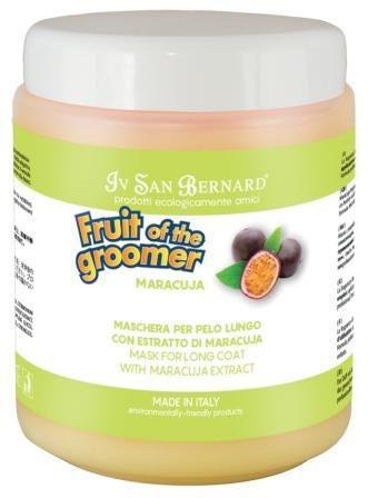 IV SAN BERNARD Fruit of the Grommer Maracuja Восстанавливающая маска для длинной шерсти с протеинами (фото, вид 1)