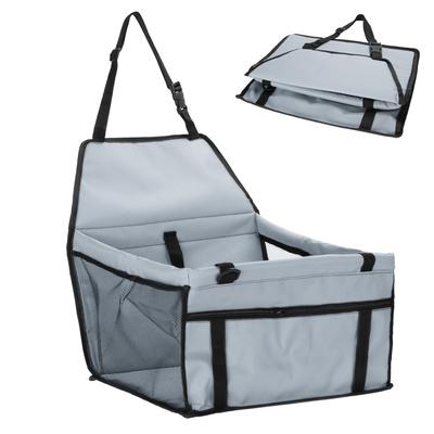 Al1 Автокресло для собак и кошек, 45х30х25 см, цвет светло- серый (фото, вид 1)
