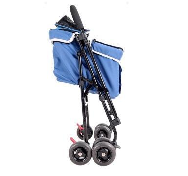 IBBI Коляска Astro Mini Pet Buggy синяя, 80 х 90 х 32 см (фото, вид 1)