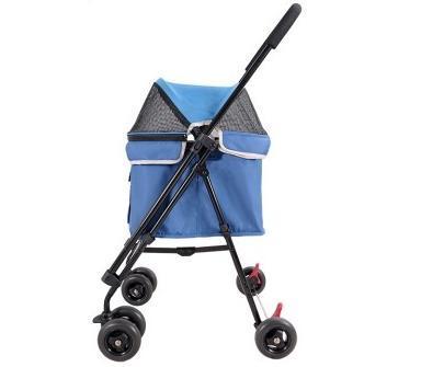 IBBI Коляска Astro Mini Pet Buggy синяя, 80 х 90 х 32 см (фото, вид 2)