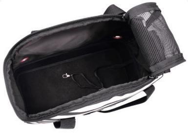 IBBI Мягкая сумка-переноска для собак 40х18х32 см черно-белая полоска (фото, вид 2)