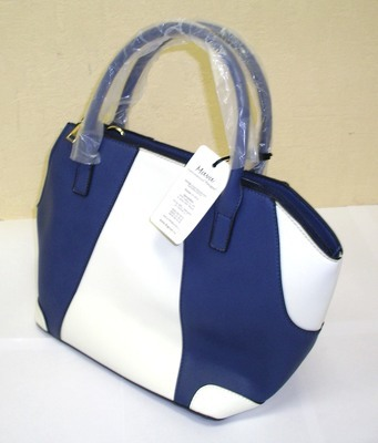 """DOGMAN Сумка для собак модельная """"Лондон"""", цвет синий/ белый, 29х18х26см (фото, вид 2)"""