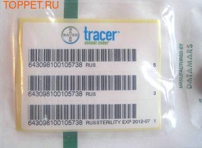 Bayer Микрочип для животных Tracer (фото, вид 1)