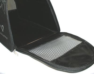 DOGMAN Сумка -переноска для собак Лира, черная (фото, вид 2)