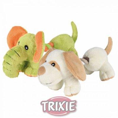 TRIXIE Игрушка для собак Слоненок или Щенок с канатом, плюшевый, 17,0см (фото, вид 1)