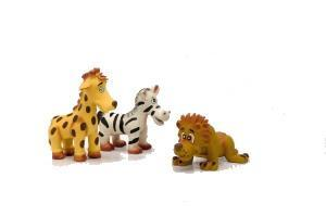 "Beeztees Игрушка для собак ""Животное из Сафари"", латекс 12см (фото, вид 1)"