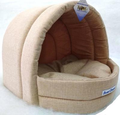 Бобровый дворик Домик-Эстрада для собак и кошек «СЛАДКИЙ СОН» Рогожка (фото, вид 1)