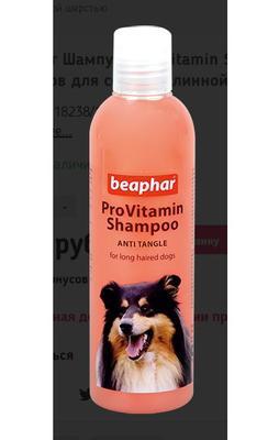Beaphar Pro Vit Macadamia Oil шампунь для собак от колтунов с миндальным маслом 250 мл (фото, вид 1)