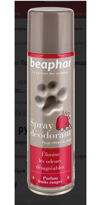 Beaphar Французский премиум спрей-дезодорант Spray deodorant для всех типов шерсти собак и кошек 250 мл (фото, вид 1)