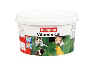 Beaphar VVitamin Cal Витаминная смесь д/укрепления иммунитета у собак, кошек, птиц, грызунов 250г (фото, вид 1)