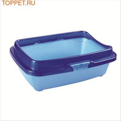 Dunya Dogus(Дунья Догуш) Туалет для кошек с бортом большой 43*33*16см (фото, вид 1)