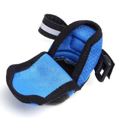 Al1 Ботинки для собак синие, размер L (фото, вид 2)