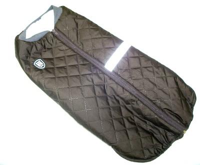 SportDog Куртка-попона меховая для собак, коричневая, спина 53см (фото, вид 1)
