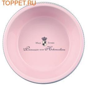 """TRIXIE Миска для собак """"Princess"""", 1 л/ø 20 см, керамика, розовый (фото, вид 1)"""