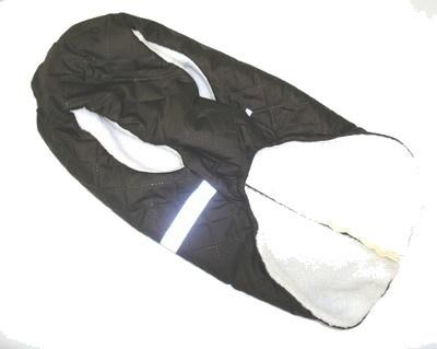 SportDog Куртка-попона меховая для собак, коричневая, спина 53см (фото, вид 2)