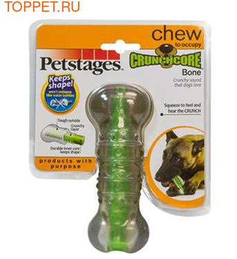 """Petstages Игрушка для собак """"Хрустящая косточка"""" (фото, вид 1)"""