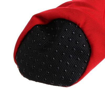 Al1 Ботиночки для собак черные на флисе, размер №2, №3, №4, №5, №6, №7 (фото, вид 1)