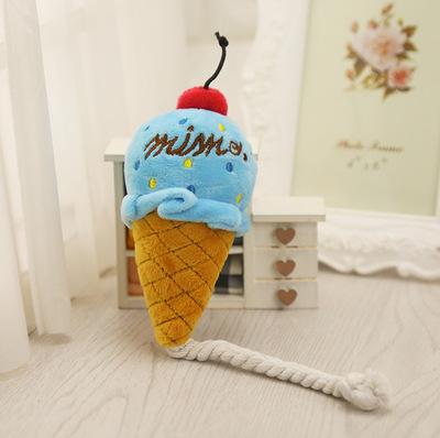 Al1 Игрушка для собак мягкая Мороженое 13см (фото, вид 2)