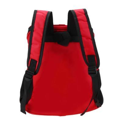 Al1 Рюкзак для собак красный, размер 33 x 30 x 24см (фото, вид 1)