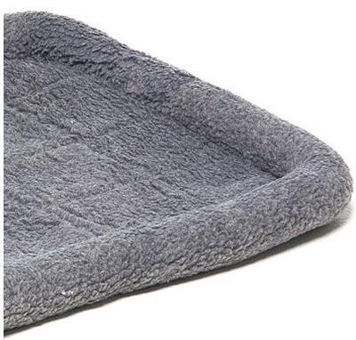 V.I.Pet Лежанка для средних и крупных животных, цвет серый (фото, вид 1)