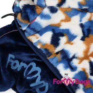 ForMyDogs Комбинезон-шубка для собак мультиколор, модель для мальчиков, размер 10 (фото, вид 2)