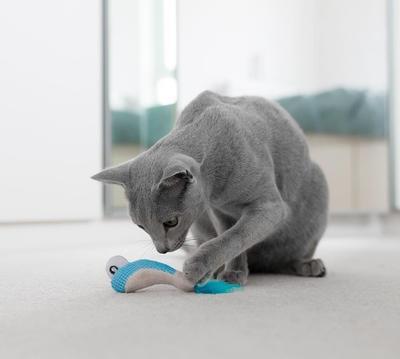 """Petstages Игрушка для кошек Dental """"Креветки"""" 2 шт. с кошачьей мятой, 7 см (фото, вид 1)"""