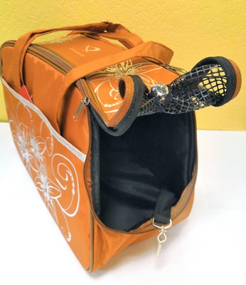 DOGMAN Сумка -переноска для собак №7 кирпичная, размер 40х19х25см. (фото, вид 2)