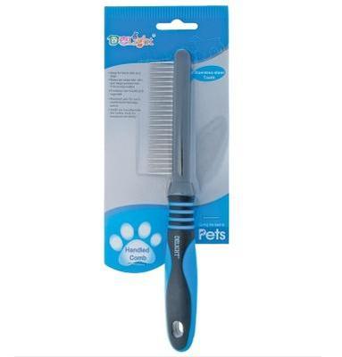 Hello Pet Расческа DeLIGHT с кольцами 24 зуба, 21,5см (фото, вид 1)
