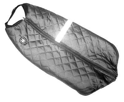 SportDog Куртка-попона меховая для крупных собак, черная, спина 58см (фото, вид 1)