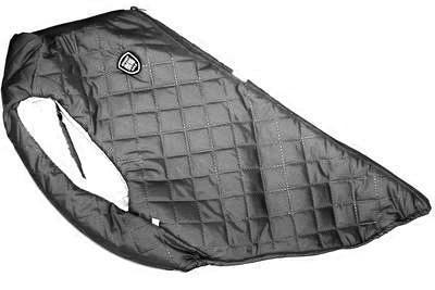 SportDog Куртка-попона меховая для крупных собак, черная, спина 65см (фото, вид 3)