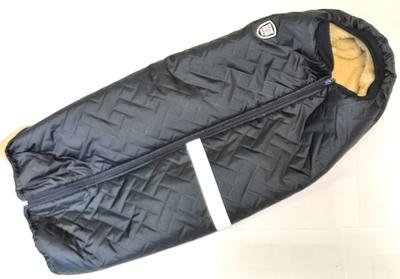 SportDog Куртка-попона меховая для крупных собак, черная, спина 58см (фото, вид 5)