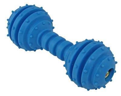 DOGMAN Игрушка для собак Гантель звенящая, 12см (фото, вид 2)