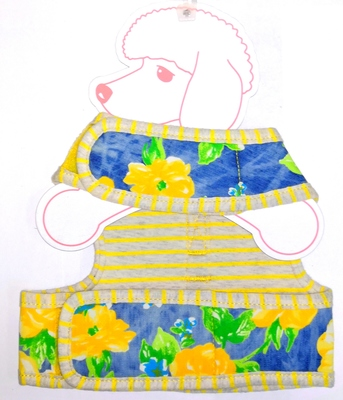АНТ Pinkaholic Шлейка-жилетка для собак, размер M, L, желтый микс (фото, вид 2)