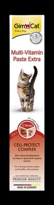 Gimborn GIMCAT Мультивитамин Экстра Паста для кошек (фото, вид 1)